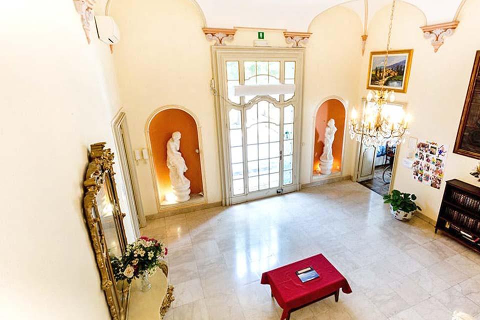Casa di Riposo Villa Marta di Betania il salone