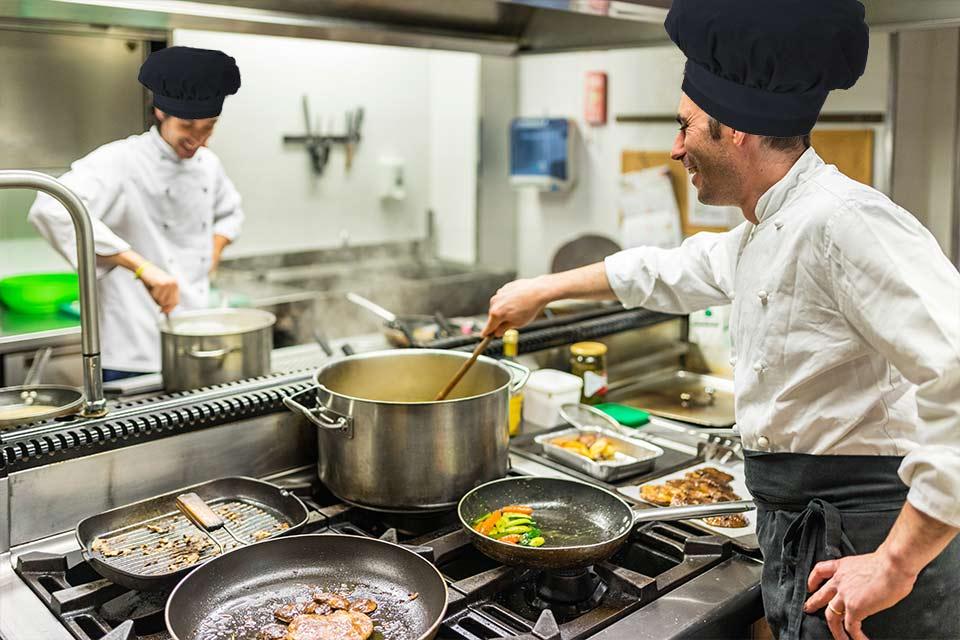 Cucina interna Casa di riposo Villa Marta di Betania Genova