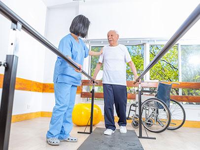 Giornata tipo Casa riposo Villa Marta di Betania - fisioterapia anziani