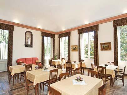 Giornata tipo Casa riposo Villa Marta di Betania la colazione
